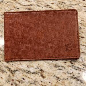 Authentic Louis Vuitton pass case